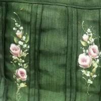 畳の縁布バック